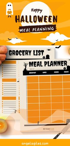 Get this super fun Halloween printable. You can use it to do your meal planning and grocery shopping. It is perfect for those that are looking to spice up their holiday shopping lists! #halloweenprintables #printables #halloweenprintablesfree Meal Plan Grocery List, Grocery Lists, Baby Shower Printables, Party Printables, Weekly Meal Planner, Breakfast Lunch Dinner, Blog Design, Meals For The Week, Halloween Fun