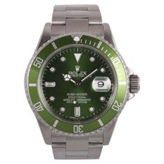 Rolex Submariner 16610 Stainless Steel Green Dial Automatic 40mm Mens Watch | Rolex | Buy at TrueFacet