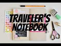 Scrap no traveler's notebook #1 - Chile