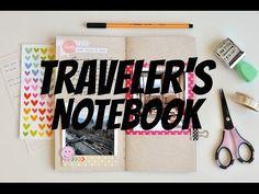 Scrap no traveler's notebook #1 - Chile
