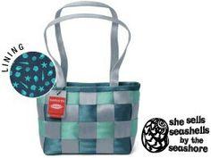 *Harveys Seatbelt Bag 2011 LTD Medium Tote in ~She Sells Seashells~ #98 of 250*