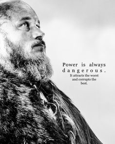 Ragnar...Power is...