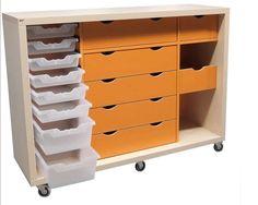 BCI Flexio kastmodule 4-105 Knutselkast Atelier, enorm veelzijdig