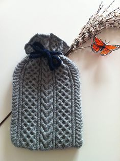 Horsing Around - Hot Water Bottle Cover - Love this.