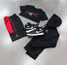 SHOP THIS LOOK  #Top - #Jordan Iconic Flight Tee #Bottom - Jordan M J Rise Short #Sweatshirt - Jordan Flight Lite Fz #Hoodie #Shoes - Jordan Aj 1 Mid Jordan Aj 1, Men's Fashion, Fashion Trends, Hoodies, Sweatshirts, Nike Jacket, Jordans, Jackets, Shopping