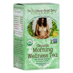 Earth Mama Organic Morning Wellness Tea from Bella Mama Baby Tea, Organic Herbal Tea, Earth Mama, Gift From Heaven, Lemon Balm, Brewing Tea, Jumping Jacks, Suddenly, Biodegradable Products