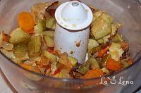 Zacusca de dovlecei(varianta rapida si sanatoasa) - LaLena.ro Potato Salad, Potatoes, Meat, Chicken, Ethnic Recipes, Pizza, Food, Romanian Recipes, Canning