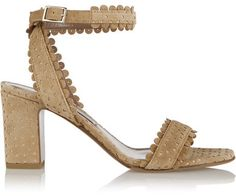 Tabitha Simmons - Leticia Perforated Suede Sandals - IT37