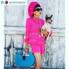 #Repost @advancedstyle with @repostapp. ・・・ Preview of yesterday's shoot with Pearl Harbour for my new book coming out in May. Pearl is modeling one of her brand new bags  http://pearlharbourhandbags.com