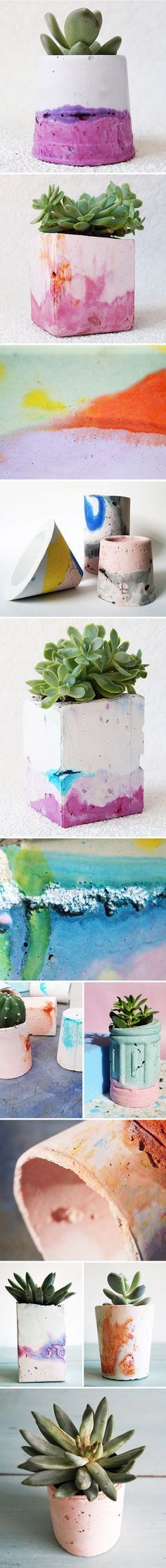 colorful concrete by emma mcdowall