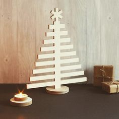 Decorative Christmas tree made from bitch plywood - available on our website - new for 2016
