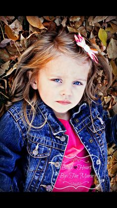 Fall children's photography