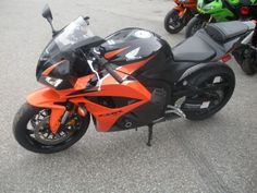 2010 Honda CBR600RR Sportbike , Pearl Orange w/ Black, 3,986 miles for sale in Columbia , CT