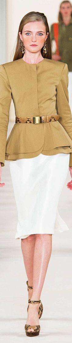 Farb-und Stilberatung mit www.farben-reich.com - Ralph Lauren Collection Spring 2015 Ready to wear