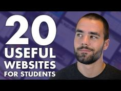 20 Useful Websites Every Student Should Know About - College Info Geek - YouTube