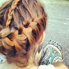 Fun Braids #hairstyles, #haircuts, #hair, #pinsland, https://apps.facebook.com/yangutu