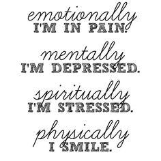 Physically, I smile... | DiabetesTeam
