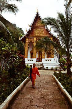 Wat Siphoutthabath, Luang Prabang, Laos, www.marmaladetoast.co.za #travel find us on facebook www.Facebook.com/marmaladetoastsa #inspired #destinations