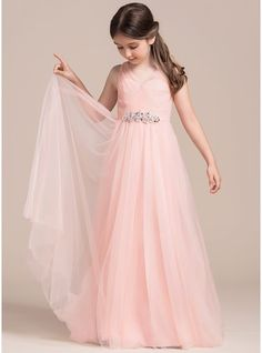 Jr Bridesmaid Dresses White Ruffle