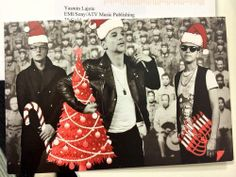Depeche Mode, this years xmas card
