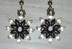 Super Duo bead earrings