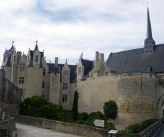 château de Montreuil Bellay . Pays-de-la-Loire