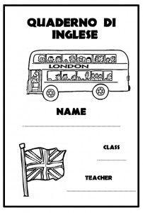 Très copertina quaderno inglese | scuola | Pinterest | English  ZS17
