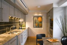 Cambridge kitchen designed by Mary Jean Keany of Anamika Design (photo by Eric Roth)