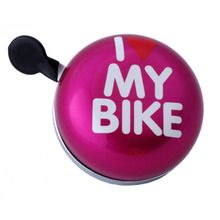 I LIKE MY BIKE - Ding Dong Bell - Pink