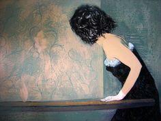 Tiempo de espera 100 cm x 80 cm Acrílico-Lienzo 2012 3.000€  #arte #art #artecubano #cubanart #galerías #galleries #pintura #painting #EdelBordon Painting, Floating Island, Cuban Art, Canvases, Islands, Pintura, Painting Art, Paintings, Painted Canvas