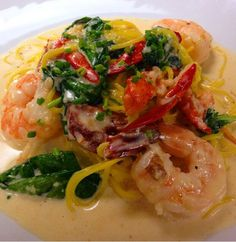 Shrimp and Lobster Pasta