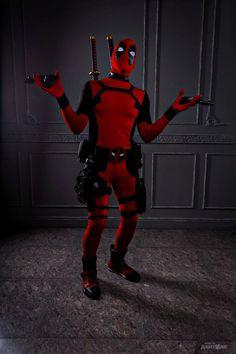 #Deadpool #Fan #Art #Cosplay. (Deadpool) By:KiryuFox. ÅWESOMENESS!!!™ ÅÅÅ+