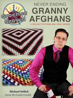 Need a free eBook for crochet granny afghans? Learn Mikeys way with doing it never ending style. Download this free ebook.
