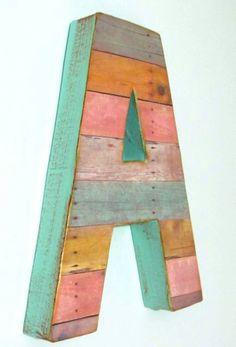 Project Nursery - Oversized Reclaimed Wood Letter