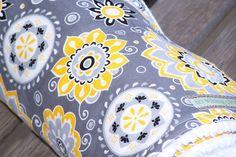 Baby Blanket Chenille--Sunny Flower