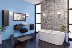 Many people assume that a small bathroom will be much faster to renovate than a large one like this. Thats not necessarily true. The 15 point Checklist to bathroom renovation. Budget Bathroom, Small Bathroom, Master Bathroom, Wooden Bathroom, Bathroom Ideas, Feng Shui, Bathroom Remodeling Contractors, Bathroom Renovations, Kitchen Remodeling