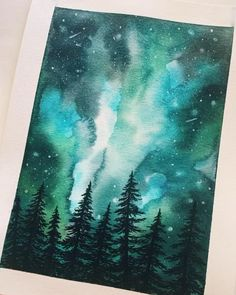 Watercolor Galaxy, Galaxy Painting, Galaxy Art, Tattoo Watercolor, Watercolor Background, Abstract Watercolor, Watercolor Illustration, Watercolor Paper, Watercolor Art Landscape