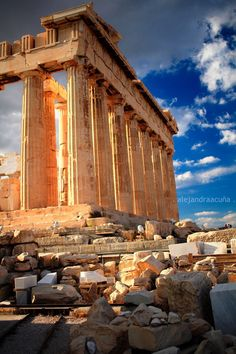Athens Parthenon on Acropolis, Greece Places Around The World, Oh The Places You'll Go, Travel Around The World, Places To Travel, Places To Visit, Around The Worlds, Athens Acropolis, Athens Greece, Parthenon Greece
