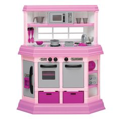 American Plastic Toys Custom Kitchen Play Set