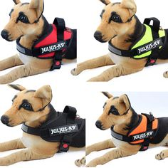 Julius K9 Power Harness Strong 3M Reflective Dog Harnesses
