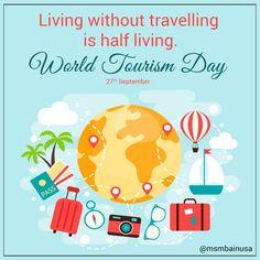 Happy World Tourism Day 2017  #WorldTourismDay #TourismDay #travelling Via MSMBAinUSA