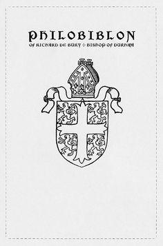 The goods / Philobiblon of Richard de Bury, Bishop of Durham