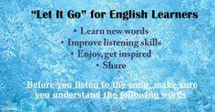 Let It Go - Frozen - ESL song activities | Anna Edu