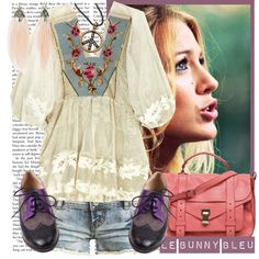 Fun for Spring, I like the top, shorts and purse...not so much the shoes, need a cute pair of sandles.