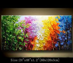 Original Abstract Painting, Modern Textured Painting,Impasto Landscape Textured Modern Palette Knife Painting,Painting on Canvas byChen Texture Painting On Canvas, Palette Knife Painting, Light Painting, Textured Painting, Contemporary Wall Art, Painting Inspiration, Quilling, Landscape Paintings, Original Paintings