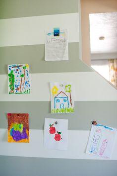 magnetic art wall for kids art