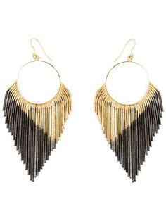 Shop Iosselliani 'Black Hole Sun' earrings in Uzerai from the world's best independent boutiques at farfetch.com. Shop 300 boutiques at one address.