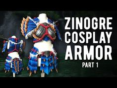 LED Zinogre Armor Part 1 - Monster Hunter #armor #hunter #monster https://tutotube.fr/fete-evenement/led-zinogre-armor-part-1-monster-hunter/