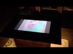 Demo of LCD Coffee Table