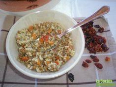 receta de lentejas con cherrys secos